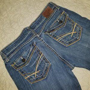 BKE Madison bootcut jeans, size 30x33